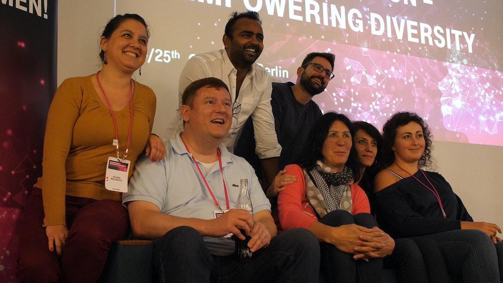 Diversität beim Berliner Hackathon