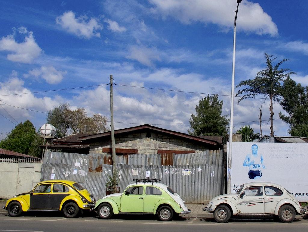 In Äthiopien erfährt der VW-Käfer-Kult seine Blüte