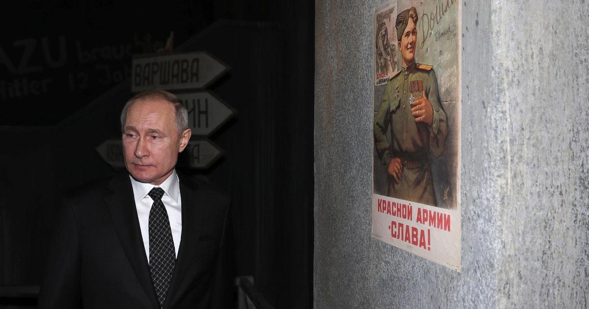 Putin will Öffentlichkeit Weltkriegs-Dokumente zugänglich machen