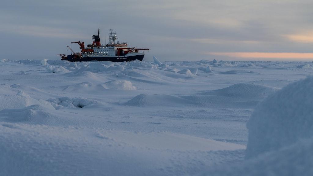 Die Luft über der Arktis enthält immer mehr Methan
