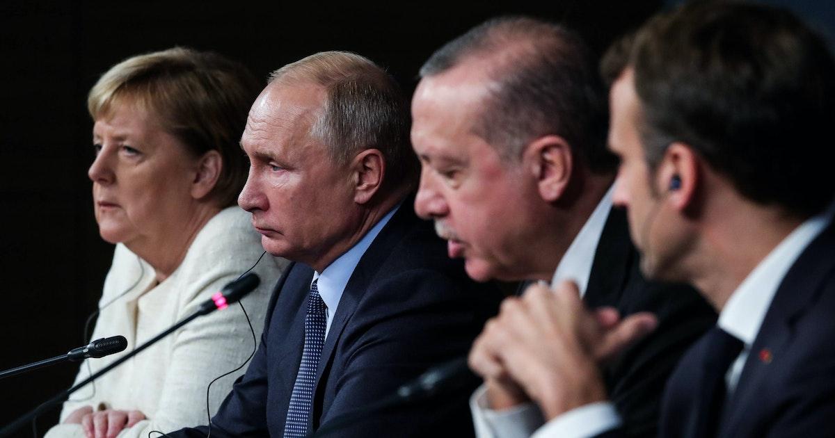 Merkel und Macron vermitteln im Syrien-Konflikt