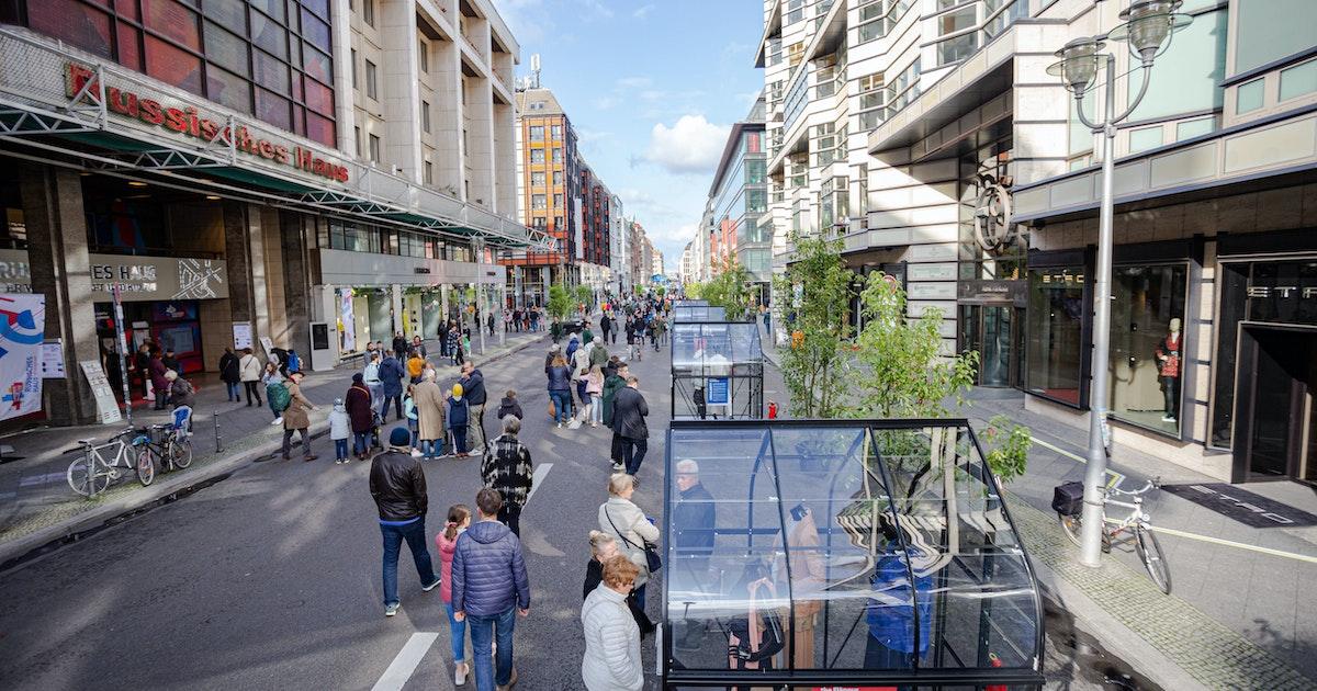 Berlin-Mitte: Friedrichstraße soll in wenigen Wochen autofrei werden