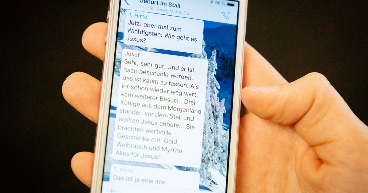 Whatsapp-Chats herunterladen geht nicht mehr