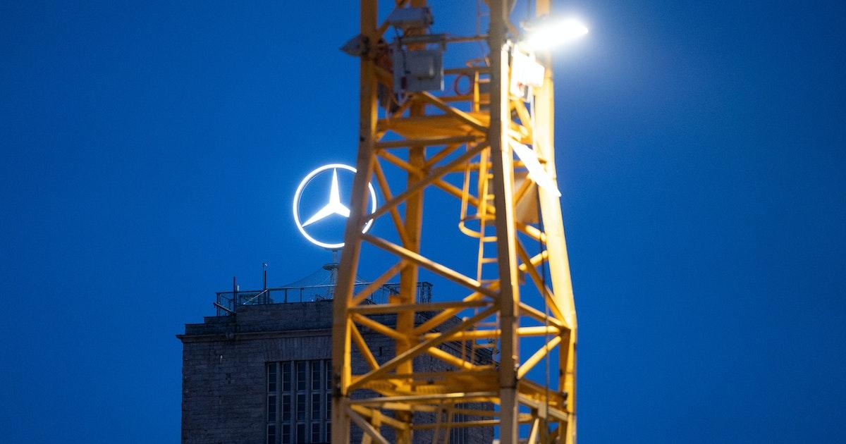 Daimler Erpressung