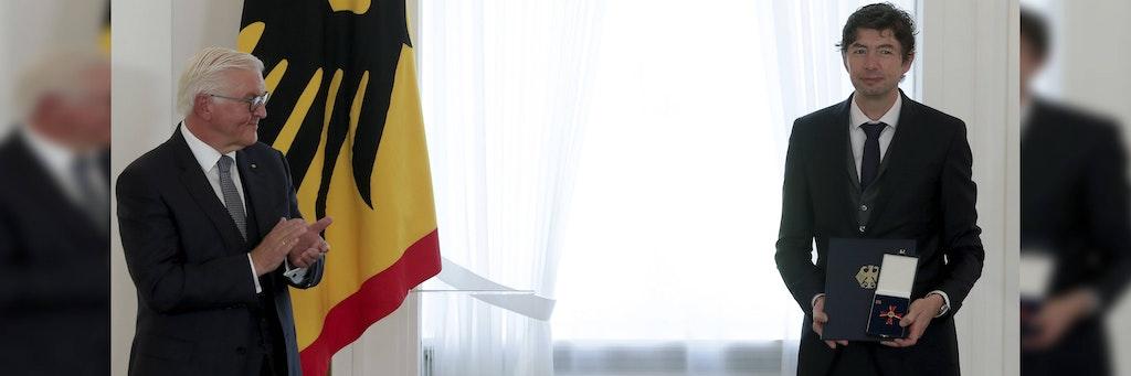 Drosten Bundesverdienstkreuz