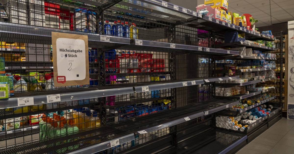 Ministerin warnt vor Hamsterkäufen