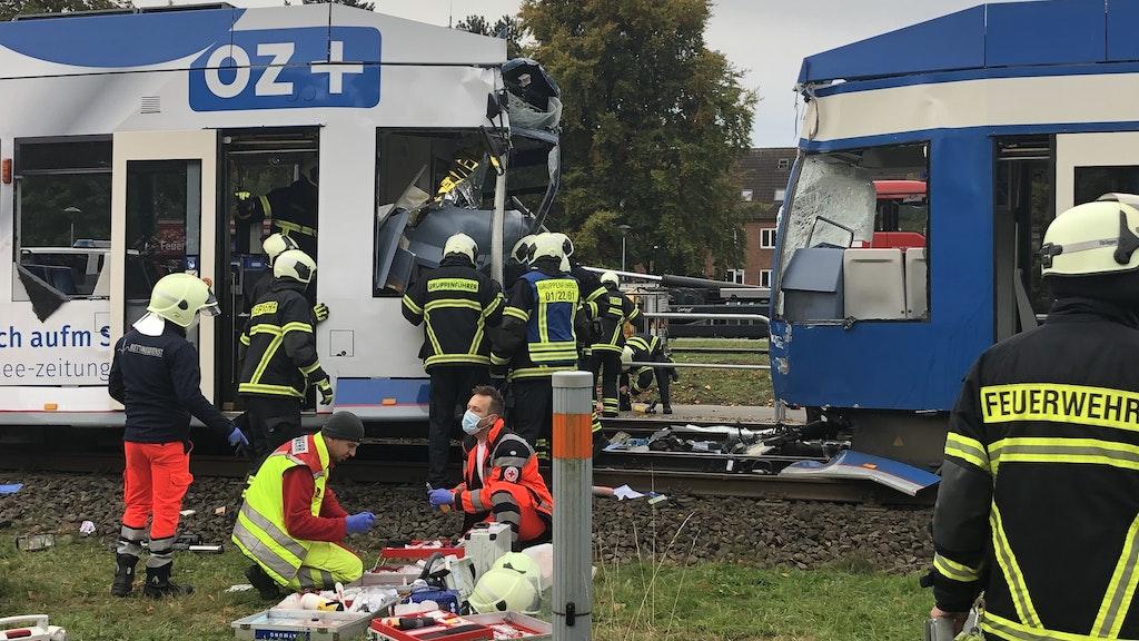 Straßenbahn Unfall Rostock