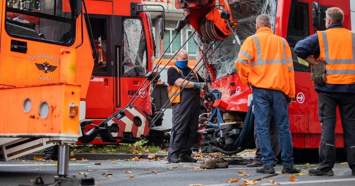 Köln Straßenbahn Unfall