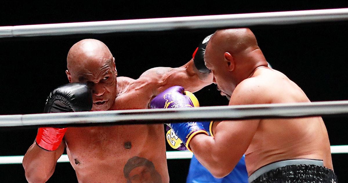 Unentschieden im Showkampf der Box-Opas