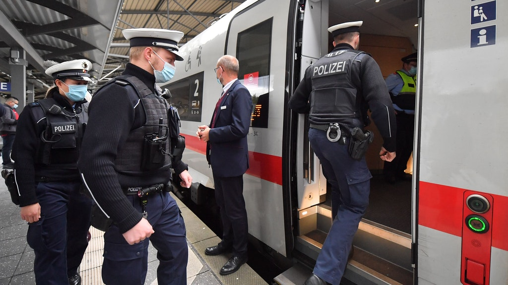 Berlin S Bahn Polizeieinsatz