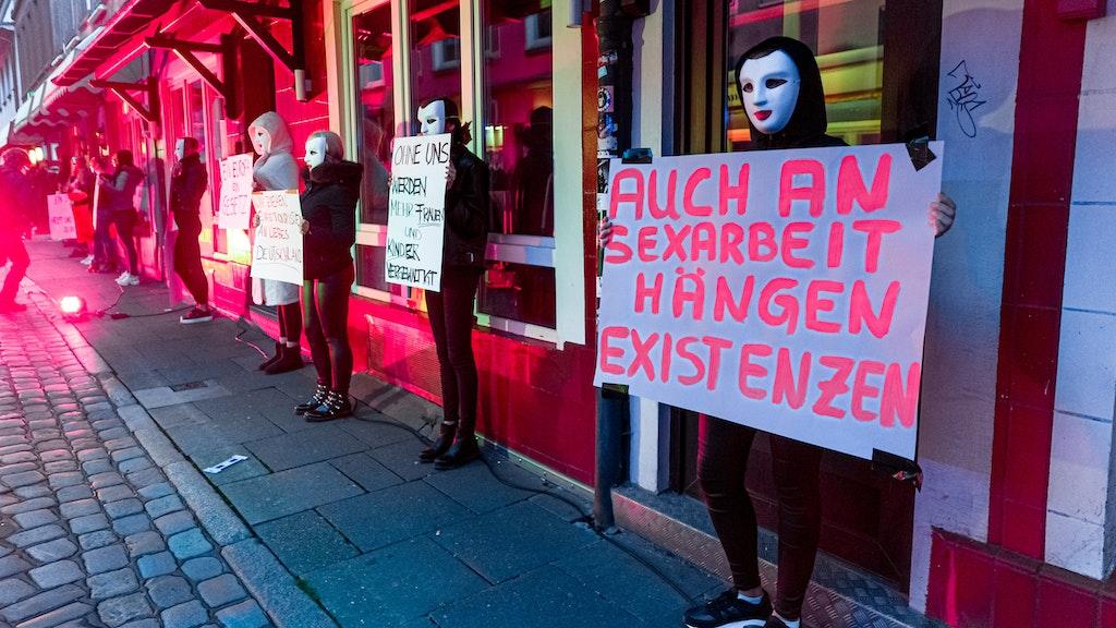 Coronavirus : Krise auf der Reeperbahn: Prostituierte