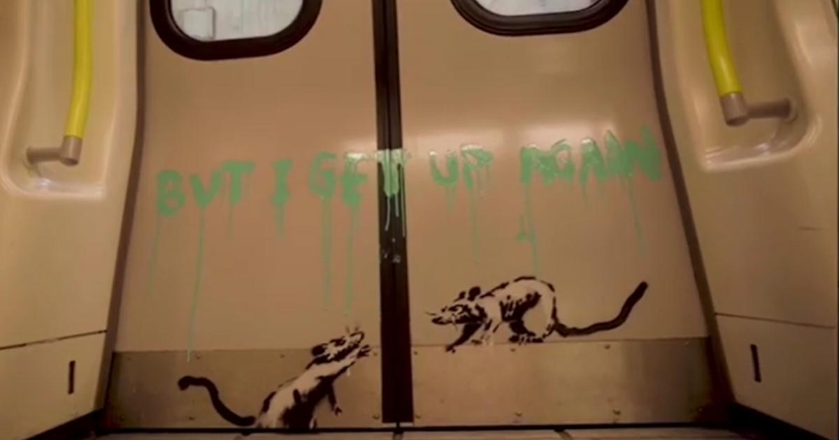 Banksy Ratten Corona