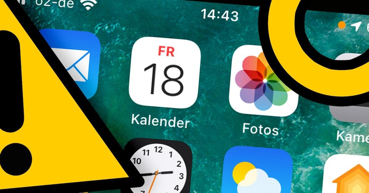 Neues Apple-Betriebssystem : Da ist plötzlich ein bunter