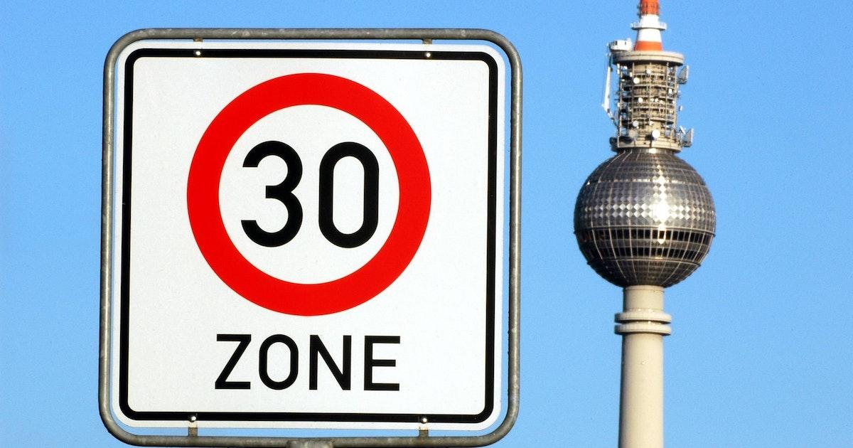 Neue Studie aus Berlin: So viele Unfälle hätte Tempo 30 verhindern können