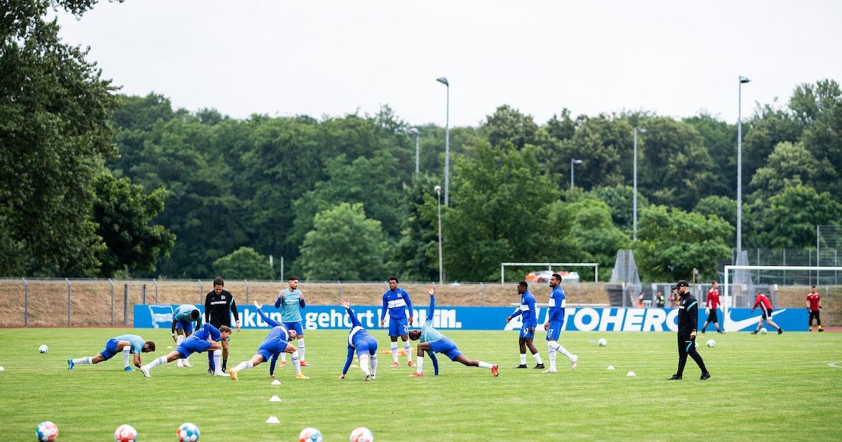 Hertha im Trainingslager: Leogang, schwerer Gang