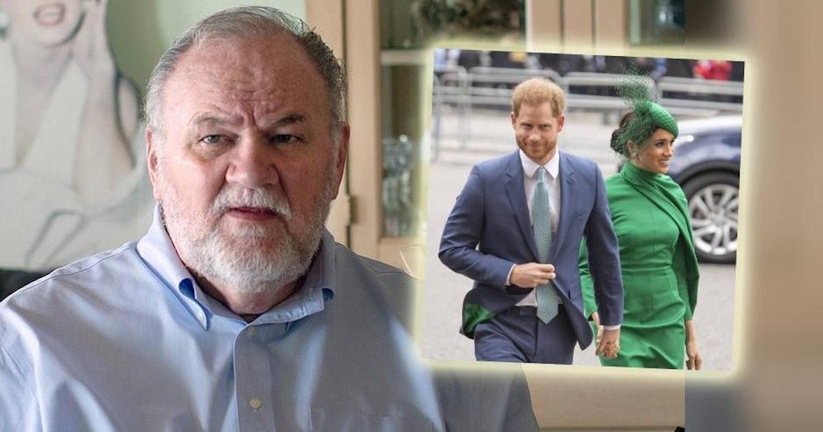 Jetzt dreht er völlig durch! Meghans Vater Thomas Markle zieht gegen Harry und Meghan vor Gericht, um seine Enkel zu sehen