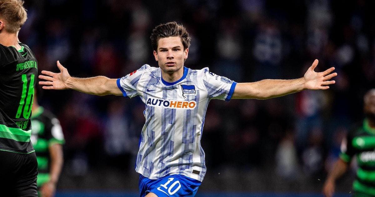 Hertha-Freude dank Ajax-Schule: Ekkelenkamp hat viele blau-weiße Vorfahren