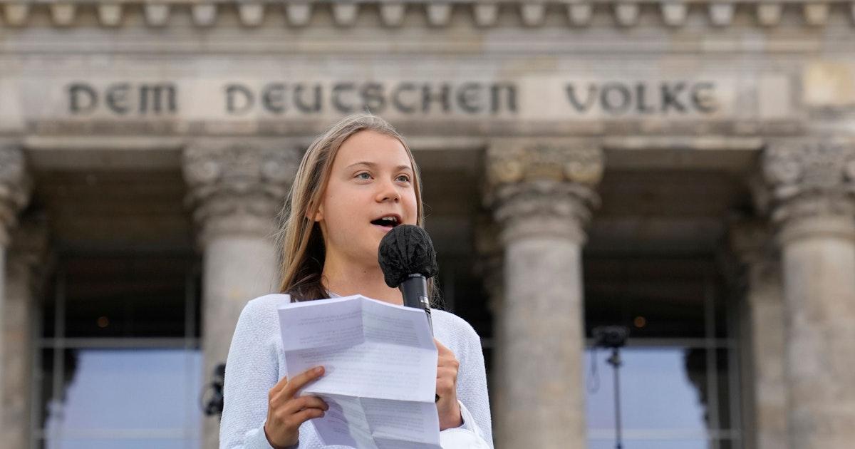 """Greta Thunberg und Luisa Neubauer in Berlin: """"Wir schreiben Geschichte!"""""""