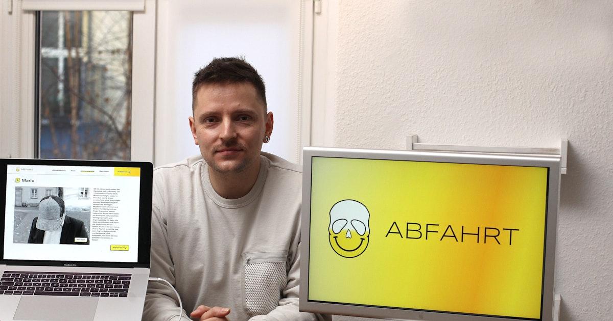 Neues Anti-Drogen-Projekt: Dieser Berliner will Crystal-Meth-Abhängigen helfen
