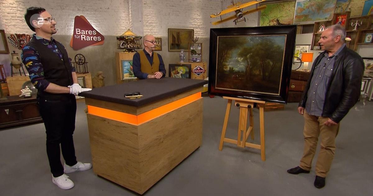 """Wahnsinns-Verkauf bei """"Bares für Rares"""": Wunschpreis verdreifacht! Dieses sensationelle Gemälde macht alle sprachlos"""