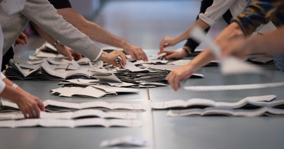 Wahlchaos in Berlin: Wahlunterlagen durften nur 25 Kilogramm wiegen