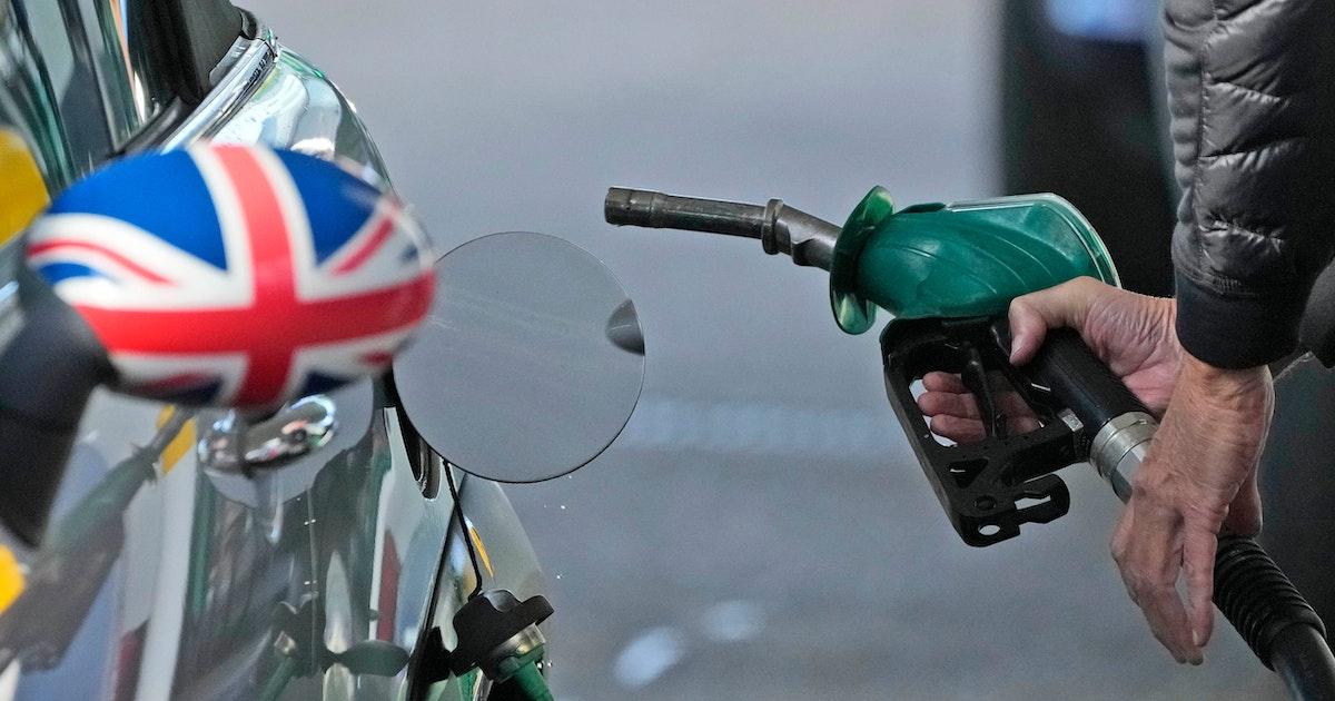 Benzinpreis steigt in Großbritannien auf Rekordhoch
