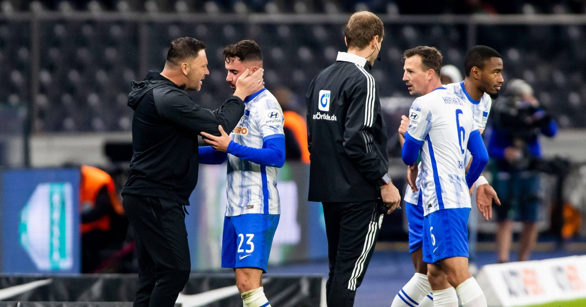 Trotz Stolperfalle Preußen Münster: Hertha setzt im Pokal auf die Riesen-Rotation