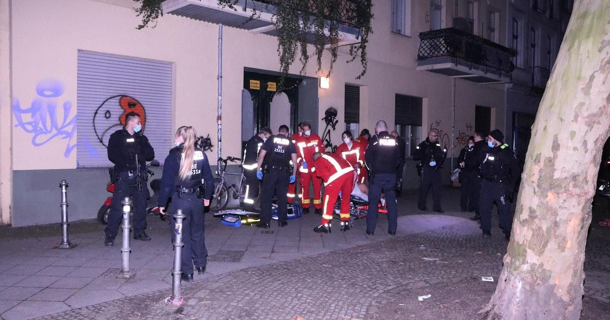 Zeugen hören Schüsse am Görlitzer Park: Polizei Berlin findet Schwerverletzten