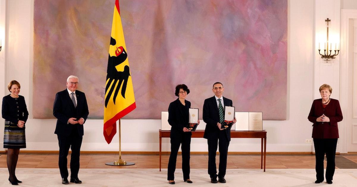 Bundesverdienstkreuz 2021 Verleihung