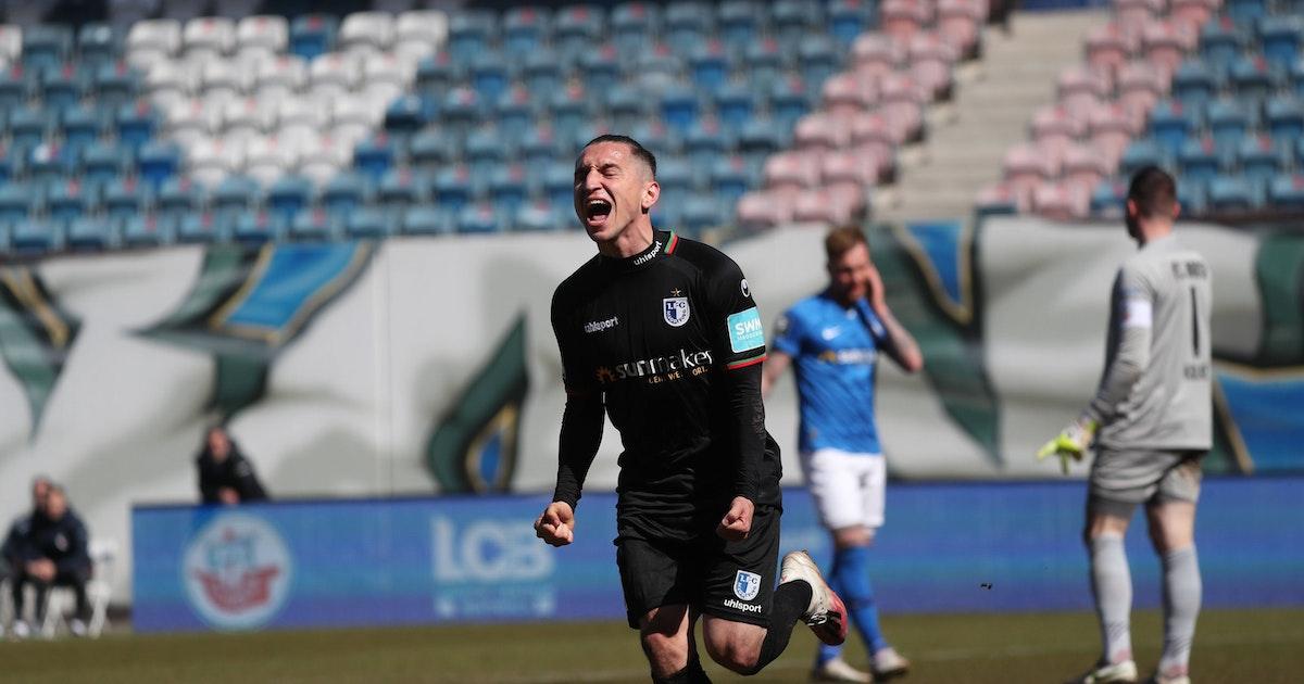 Hansa Rostock patzt im Aufstiegskampf gegen den 1. FC Magdeburg