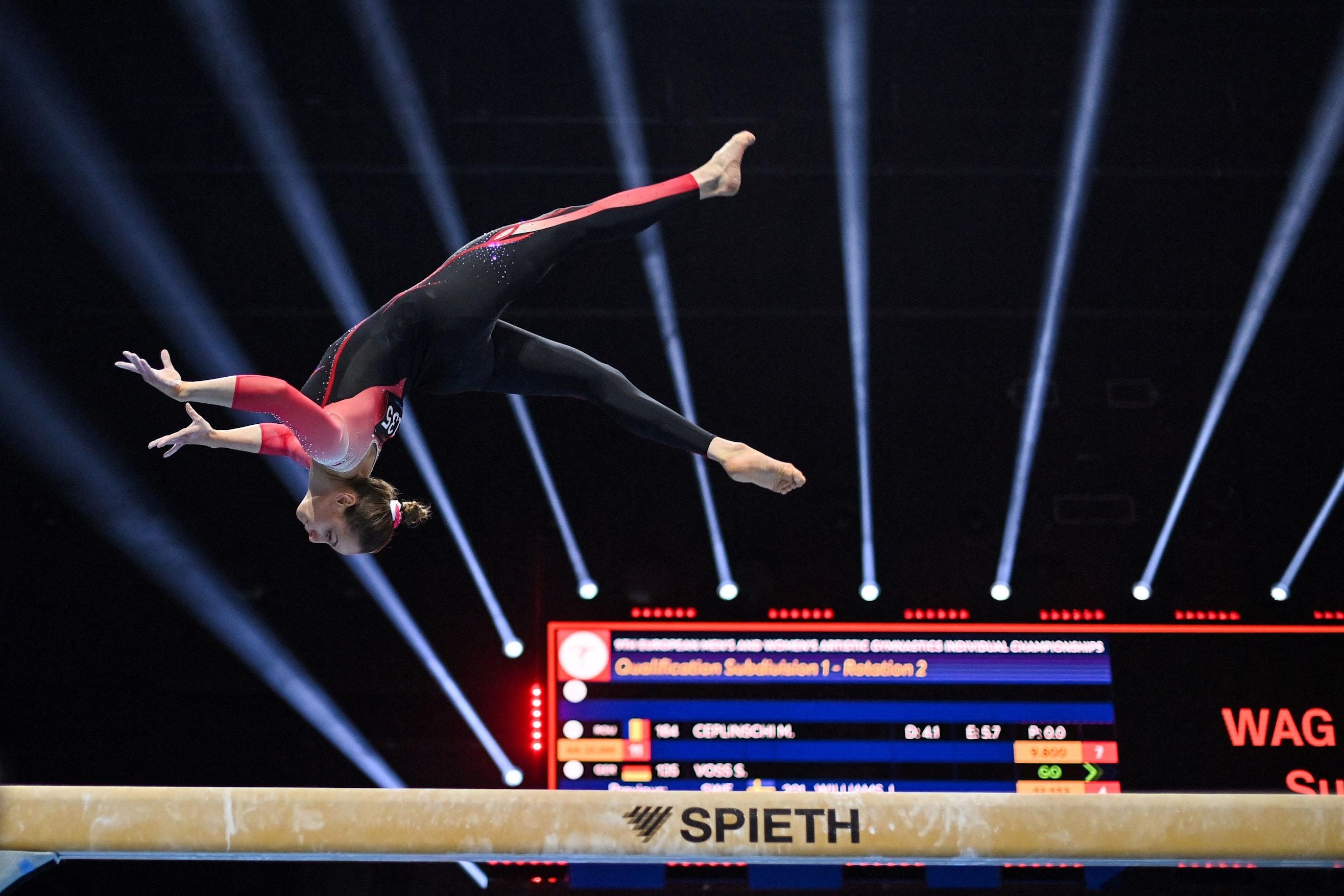 Sportgymnastik nackt rhythmische Geschichte der