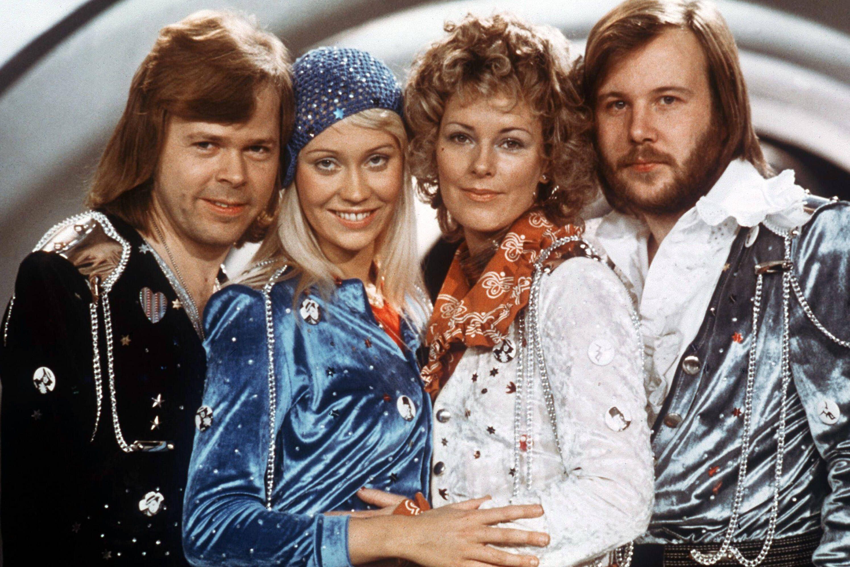 Nach 20 Jahren ABBA nehmen im Studio wieder neue Songs auf