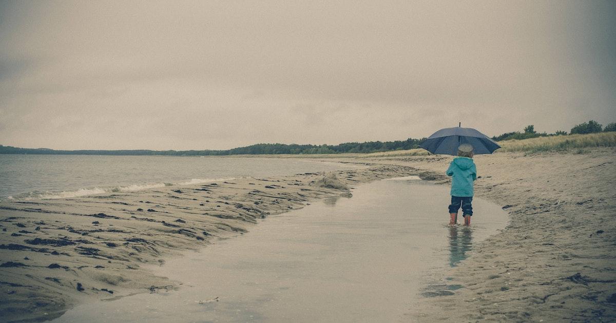 Kinder dürfen nicht mit an die See